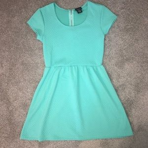 NWOT mint green short sleeve dress